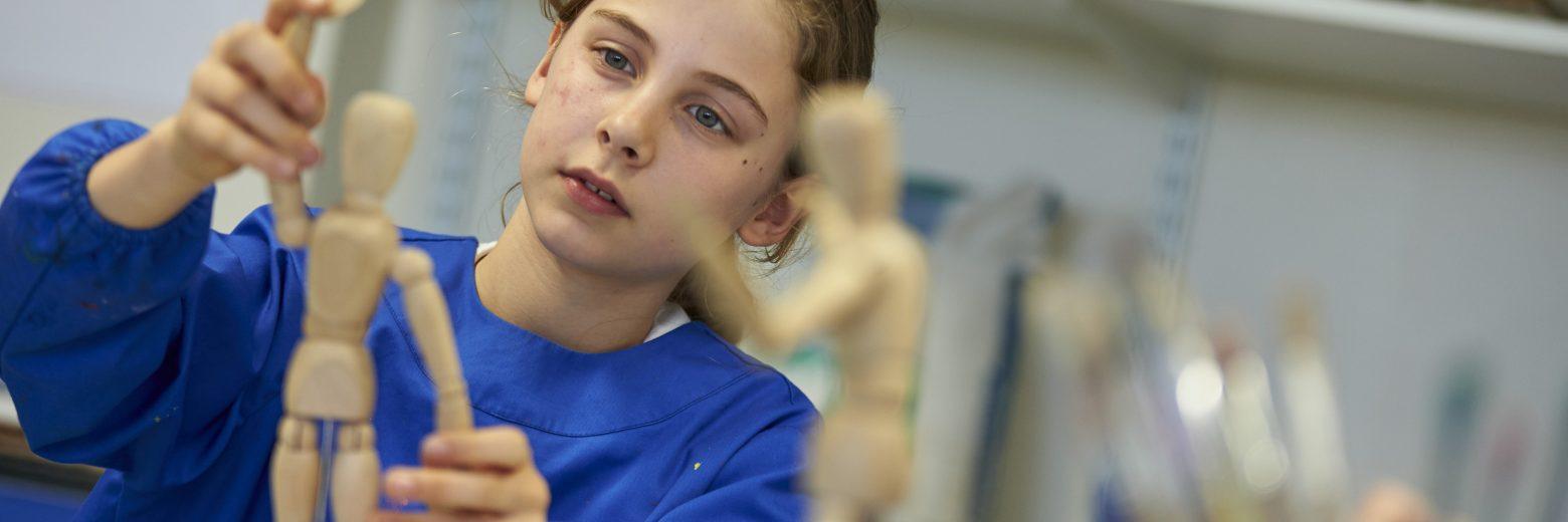 Prep School Art Student