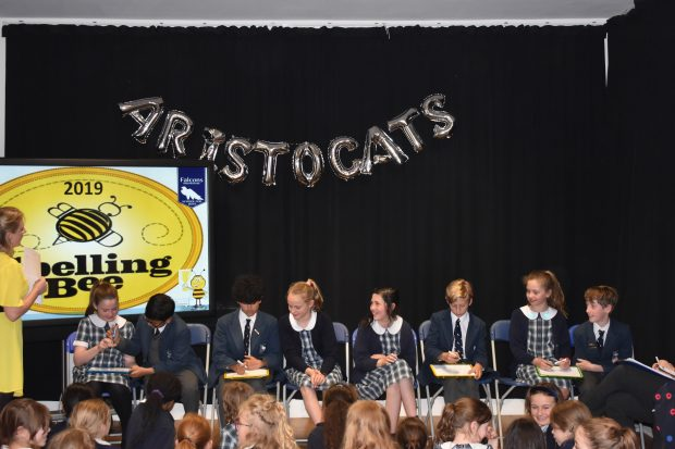 Falcons Spelling Bee