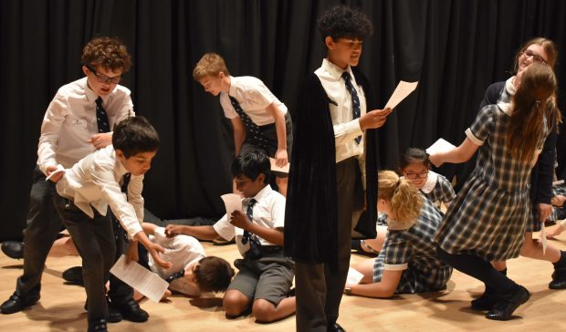 Falcons School for Girls drama workshop with Falcons Prep