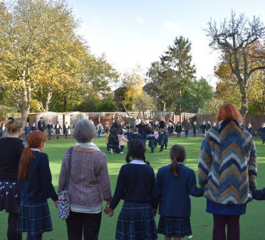 Remembrance Day at Falcons