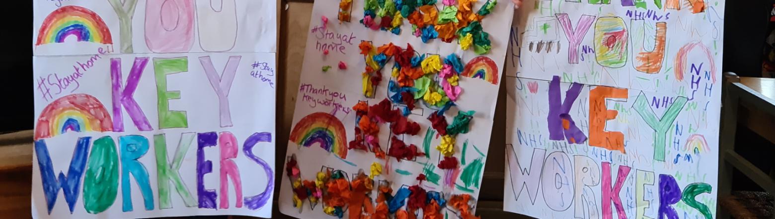 B Key Workers Rainbows