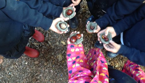 Forest School conkers