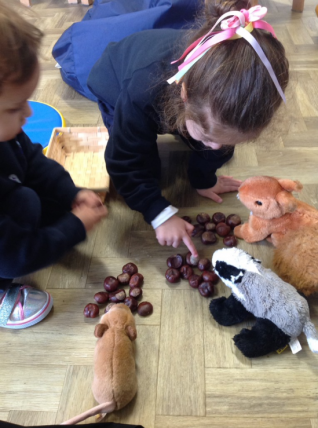 tea party for woodland animals