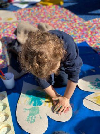 Nursery art at Peregrines